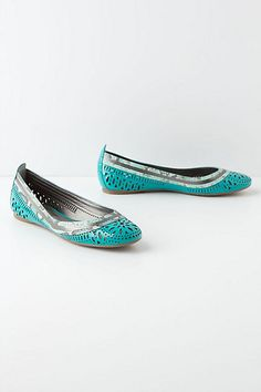 Open Air Ballet Flats #anthropologie