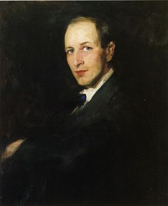 George Wesley Bellows (1911) oil on canvas, 81.28 × 65.72 cm.  by Robert Henri (1865–1929). Location:  	National Academy Museum and School New York City.