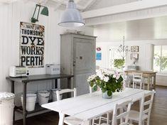 kitchens, cleanses, dine room, foster hous, countri farmhous, shabby chic, farmhous chic, lamp, atlanta