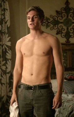 English actor, Daniel Sharman shirtless....