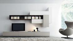 Afbeeldingsresultaat voor boekenkast met ruimte voor tv