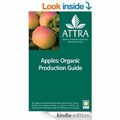 """ATTRA's """"Apples: Organic Production Guide"""" is now available on Kindle!"""