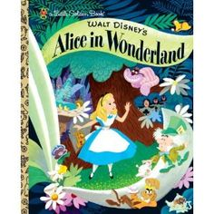 Little Golden Book: Alice in Wonderland