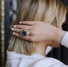 Jewelry and Decor from Brazil в Instagram: «Самый неповторимый камень - сталактит❤️ ▫️Основа: медный сплав с напылением серебра 1000к ▫️Статус: под заказ ▫️Стоимость: 4000₽ ▫️Размер:…» Sapphire, Rings, Jewelry, Jewellery Making, Ring, Jewerly, Jewlery, Jewelery, Jewelry Rings