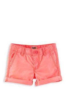 5660c37e02 OshKosh B gosh® Twill Roll-Cuff Shorts Girls 4-6x