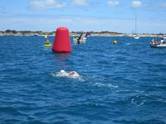 Congratulations to Momentum Energy employee Chris Reed for completing the Rottnest Channel swim in Western Australia!  The swim is one of the toughest open water swims in the world and covers the 20km channel from Cottesloe Beach in Perth to Rottnest Island.