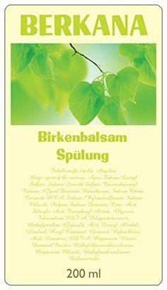 Berkana Birken Spülung, für fülliges Haar, Haarausfall verhindern, Haarwuchs beschleunigen Schutzengelein http://www.amazon.de/dp/B01BW0ESLS/ref=cm_sw_r_pi_dp_jYiYwb1R85KZH