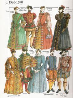 costume 1590. - Pesquisa Google