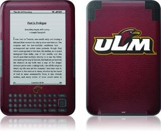 Skinit Kindle Skin (Fits Kindle Keyboard), University of Louisiana Monroe by Skinit. $12.49. IMPORTANT: Skinit skins, stickers, decals are NOT A CASE. Our skins are VINYL SKINS that allow you to personalize and protect your device with form-fitting skins. Our adhesive backing can be applied and removed with no residue, no mess and no fuss. Skinit skins are engineered specific to each device to take into account buttons, indicator lights, speakers, unique curvature and will n...