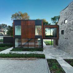 Historisches Haus mit modernem Ausbau in Quebec