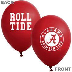Alabama Crimson Tide 10-Pack 11'' Latex Balloons