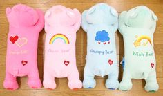 Care Bears soft hug pillows