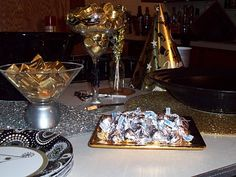 New Years Eve Party Decor - Silver & Gold