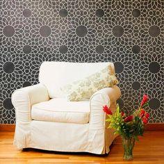 Stencil for walls. Moroccan Stencil   Intricate Zelij Wall Stencil   Royal Design Studio