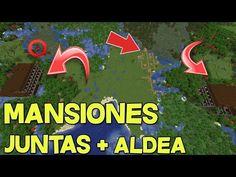 ¿LA MEJOR SEED DE MINECRAFT 1.16.3? 2 MANSIONES JUNTAS Y OTRAS SEEDS MAS! Diy Minecraft, Seeds, Logos, Minecraft Decorations, Mansions, Decorating Rooms, Logo