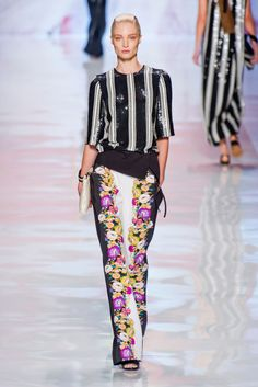 Etro S/S 2013 [the pants are gorg]