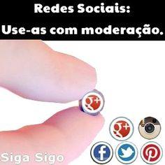 7 Frases com Imagens para Redes Sociais Produzimos 7 Frases com Imagens para você compartilhar nas Redes Sociais - Facebook, Twitter, Pinterest, Instagram, Google Plus e outras. Escolha as suas preferidas a seguir! Redes Sociais: Use-as com moderação.