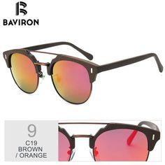 34ac2b6db9 BAVIRON 2018 Similar Wooden Sunglasses Men Polarized Retro Sunglasses  Unisex Polarized Wooden Sun Glasses Men with