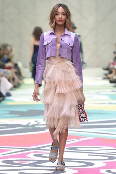 Burberry Prorsum RTW Spring 2015 [Photo by Giovanni Giannoni]