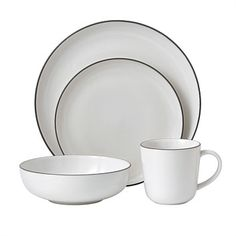 Briscoes - Gordon Ramsay Bread Street Dinnerset White 16 Piece