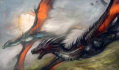 Burning Sky Conflux by Exileden.deviantart.com on @DeviantArt
