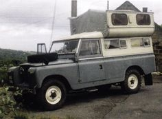 Truck Camper, Camper Van, Land Rover Camping, Landrover Series, Brave Heart, Adventure Campers, Cars Land, Expedition Vehicle, Land Rovers
