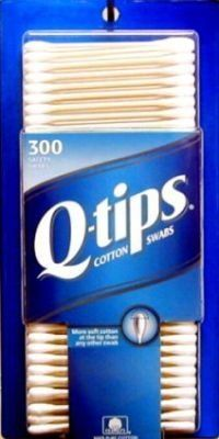 Q-Tips Antimicrobial Cotton Swabs 300-Count (3-Pack) by Q-Tips. $16.29