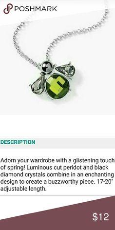 """🔶ENTIRE CLOSET ON SALE!🔶 Lia•Sophia•""""Bumble""""•NecklaceSee Pic 2 for description. Silver tone. Lia Sophia Jewelry Necklaces"""