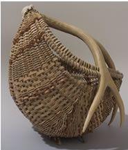 Antler Basket by Susan Ashley