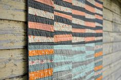 The Maisy Quilt by make_something, via Flickr---beautiful improv quilt