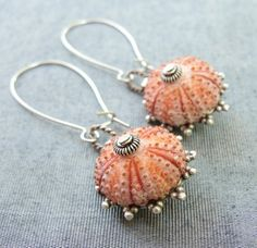 Sea Urchin Collection - Special Pink Earrings