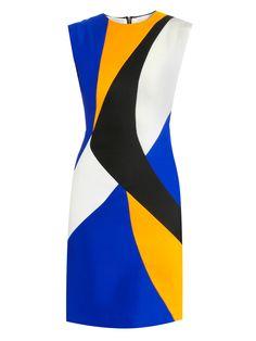Roksanda Ilincic Auster lapis fitted dress