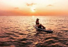 Paddle | Red Paddle | Sunset Paddle