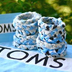 Toms flag made into a bracelet