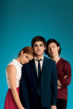 The Perks of Being a Wallflower - Promo Photoshoot [HQ] - emma-watson ezra-miller logan lerman Photo