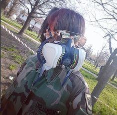 Gas Masks, Respirator Mask, Mask Girl, White Face Mask, Cute Girls, Bags, Handbags, Bag, Totes