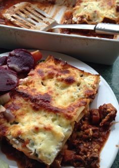 Slimming World Syn Free Lasagne Syn Free, Muffin Top, Slimming World, Cauliflower, Vegetables, Breakfast, Ethnic Recipes, Food, Lasagna