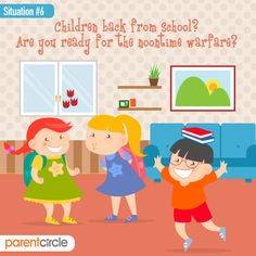 Children Don't Come With Instructions.  Haven't you always wished you had more pairs of hands when dealing with your child's demands when they get back home from school?  Parenting can seem one herculean task but it could become simpler when you have someone to guide you through the journey. Visit https://www.parentcircle.com/ and learn from fellow parents of how to approach and deal with day-to-day issues of bringing up your little tots.