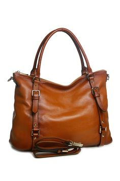 Image of Vicenzo Leather Callie Leather Shoulder Tote Handbag