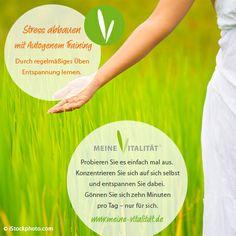 Entspannungsmethode Autogenes Training - die innere Ruhe finden.