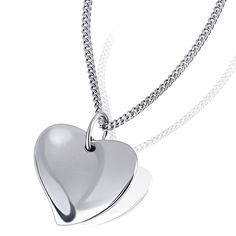 Goldmaid Women's 925 Sterling Silver Heart Necklace