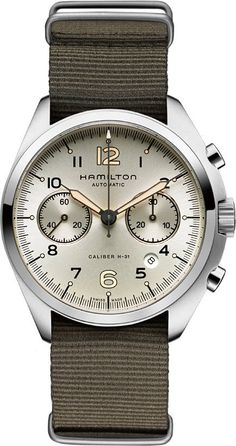 @hamiltonwfan Khaki Aviation Pilot Pioneer Auto Chrono #bezel-fixed #bracelet-strap-synthetic #brand-hamilton #case-depth-16mm #case-material-steel #case-width-41mm #chronograph-yes #date-yes #delivery-timescale-call-us #dial-colour-silver #gender-mens #luxury #movement-automatic #official-stockist-for-hamilton-watches #packaging-hamilton-watch-packaging #style-dress #subcat-khaki-aviation #supplier-model-no-h76456955 #warranty-hamilton-official-2-year-guarantee #water-resistant-100m