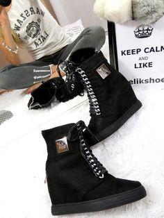 a'la Casadei LU BOO SNEAKERS TRAINERS WEDGES CASSI elikshoe.pl/... #elikshoe #ewelina_bednarz #kolekcjonerka_butow #shoes #buty