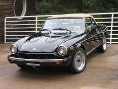 FIAT Spider....I had this car exactly the same