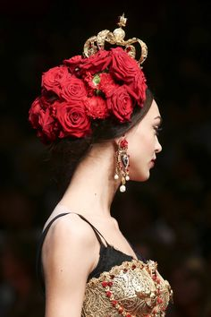 Dolce & Gabbana womenswear, spring/summer 2015, Milan Fashion Week