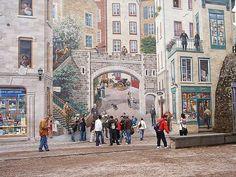 Amantes da arte de rua, preparem-se, pois este post é um caminho sem volta. Se você aprecia graffiti, vai enlouquecer com os incríveis murais de Quebec, no Canadá, que nos últimos 15 anos se consolidaram com artes repletas de ilusões de ótica impressionantes. Entre 1999 e 2008 criou-se um grande movimento artístico na cidade, quando …