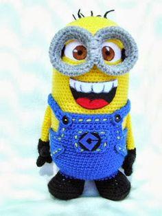 Amigurumi Minions R240 Minions, Toys, Handmade, Fictional Characters, Art, Amigurumi, Activity Toys, Art Background, Hand Made