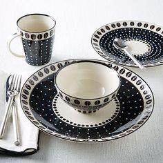 Potter's Workshop Tableware - Dot #westelm