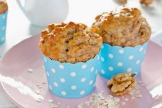 How To Make These Banana Oatmeal Breakfast Muffins - Afternoon Baking With Grandma Healthy Muffin Recipes, Healthy Muffins, Healthy Food, Oatmeal Breakfast Muffins, Morning Glory Muffins, Cupcakes, Breakfast On The Go, Mars, Parfait