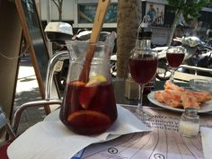 Sangria in Barcelona, Spain